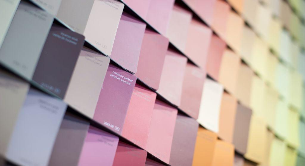 2018 color trends in the interior design