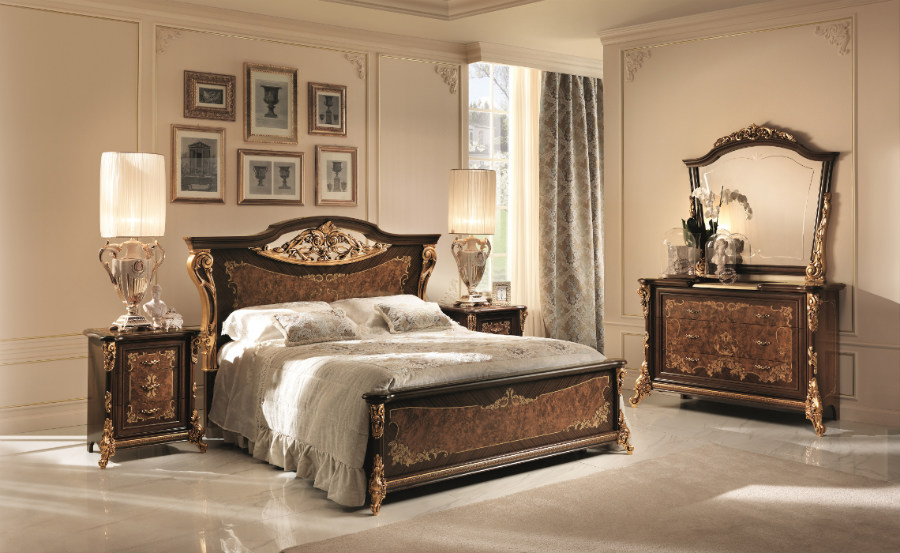 Creating a sophisticated space with Arredoclassic elegant bedroom sets 9