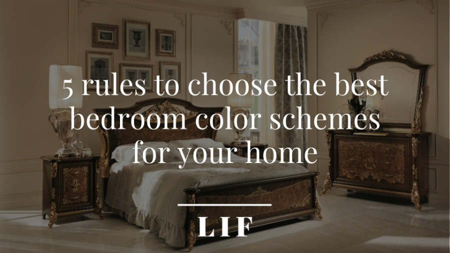 5 rules to choose the best bedroom color schemes for your home 5