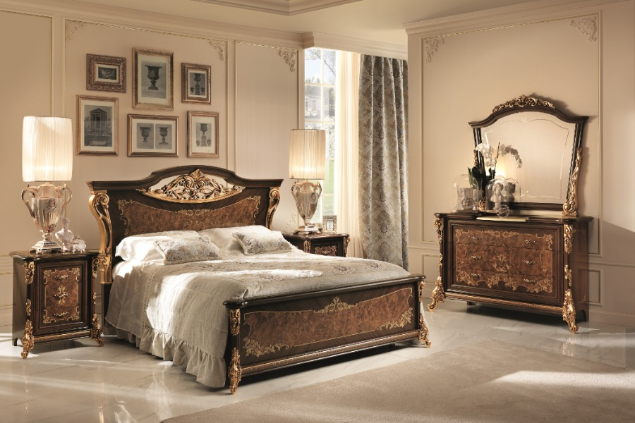 How to design a classic bedroom furniture layout 12
