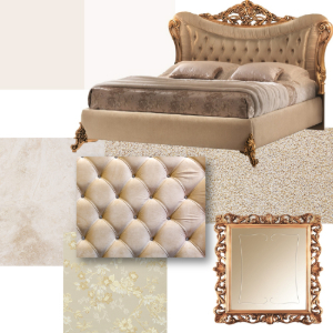 Classic bedroom mood board: Sinfonia Collection 5