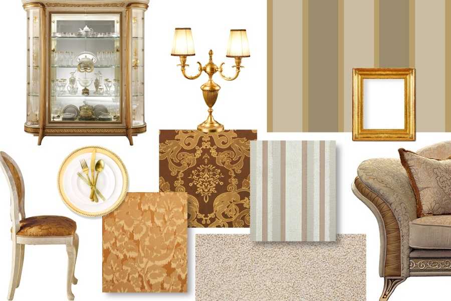 Renaissance furniture: useful tips when designing your living room 1