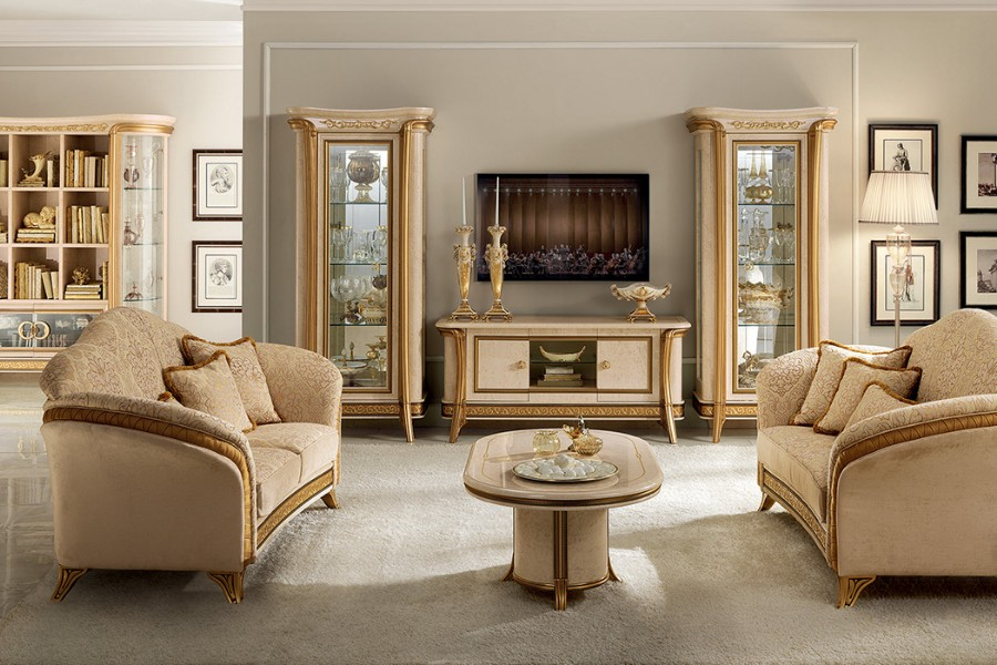 Luxury living rooms: ideas and tips to furnish spaces in a classic style 08