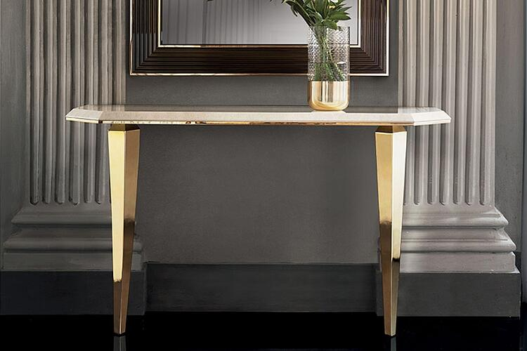 Contemporary dining room furniture: The Diamante collection