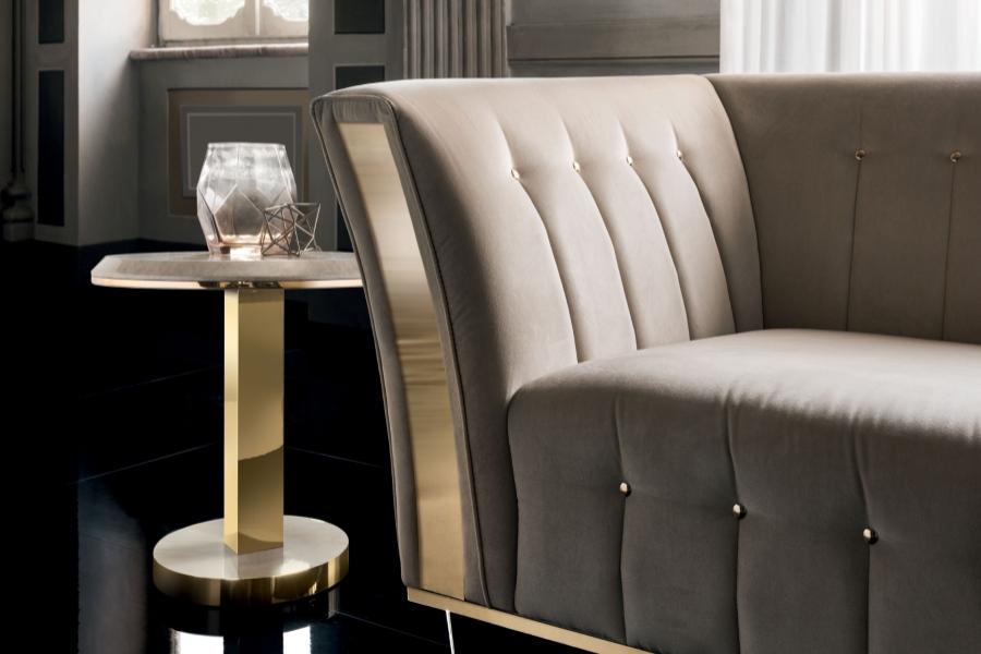 Contemporary interior design: coffee table