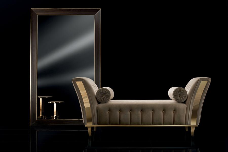 Chaise longue Diamante: the luxury of comfort