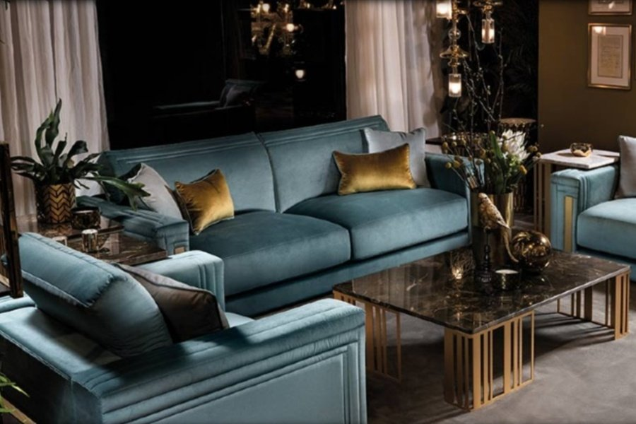 Atmosfera sofas: refined details and comfort