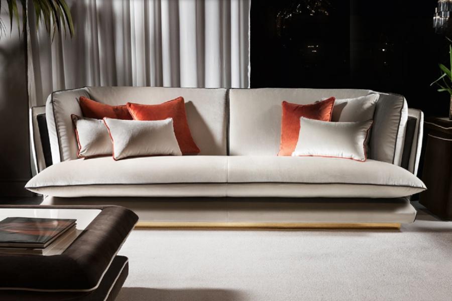 Allure sofas: elegant comfort