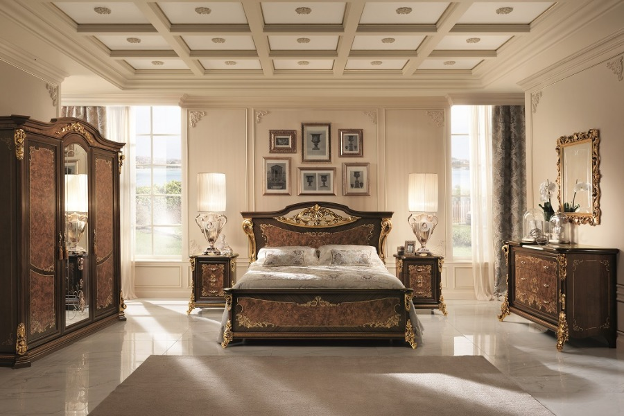 Creating a sophisticated space with Arredoclassic elegant bedroom sets