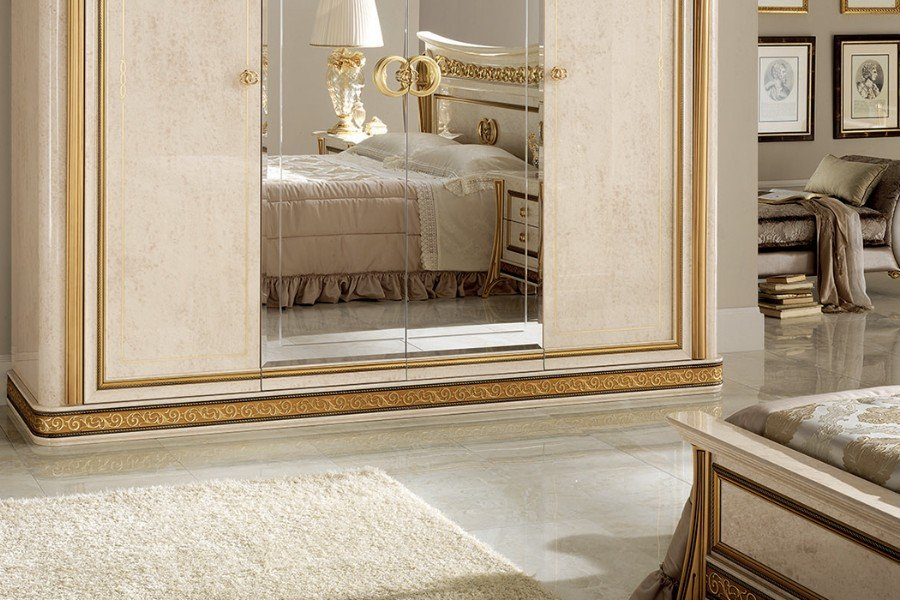 Creating a sophisticated space with Arredoclassic elegant bedroom sets 1
