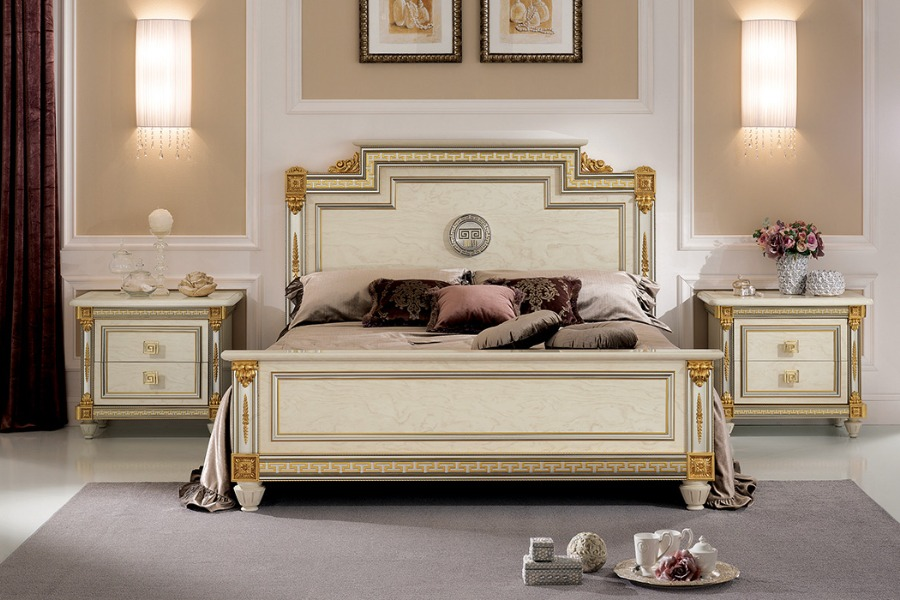 Creating a sophisticated space with Arredoclassic elegant bedroom sets-5