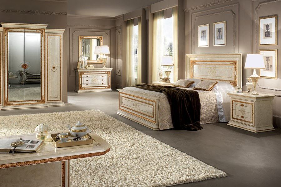 Creating a sophisticated space with Arredoclassic elegant bedroom sets 7