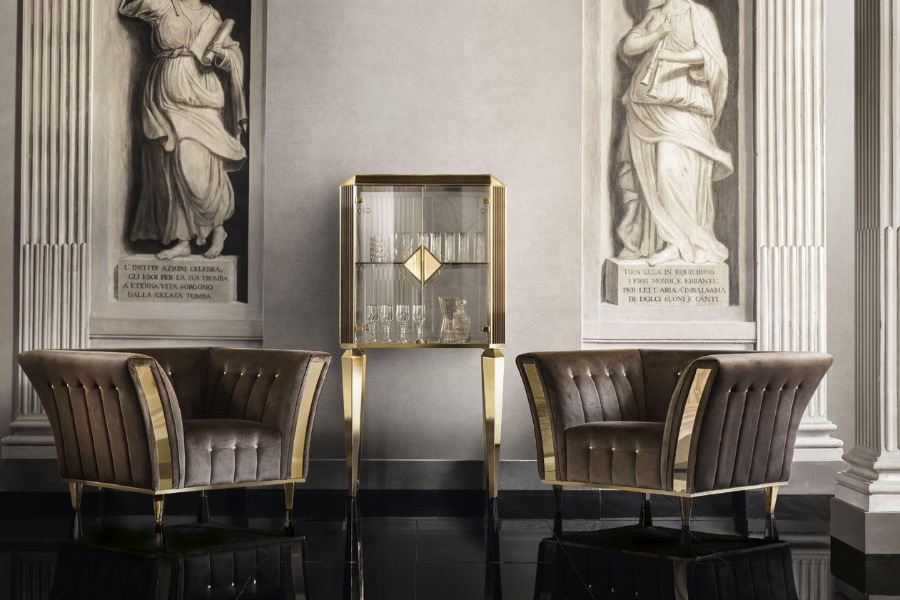 Give personality to your living room interior design with Arredoclassic and Adora 3