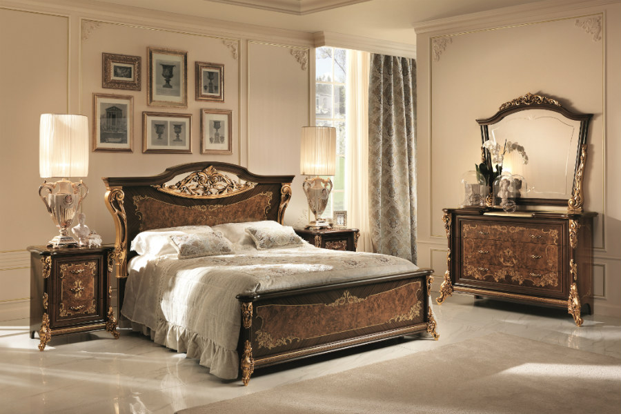 How to design a classic bedroom furniture layout 1
