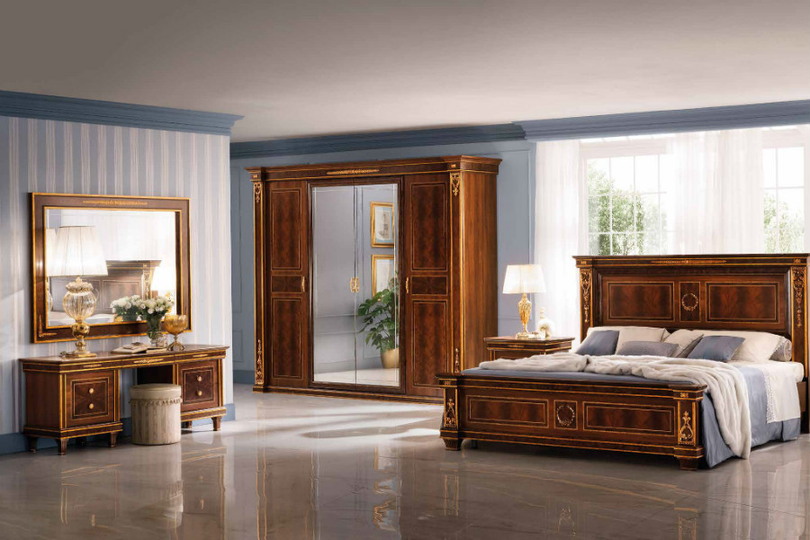 How to design a classic bedroom furniture layout