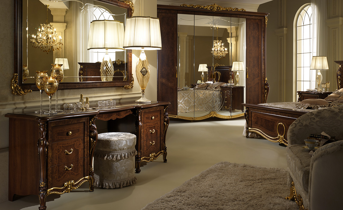 How to design a classic bedroom furniture layout 7