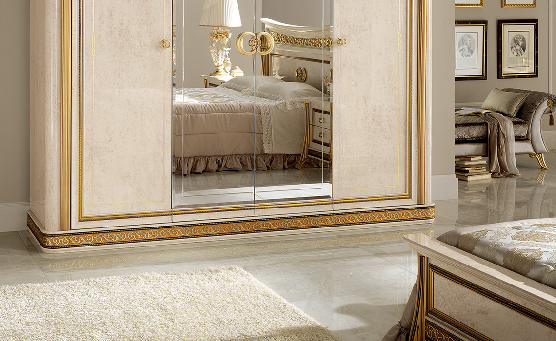 How to design a classic bedroom furniture layout 8