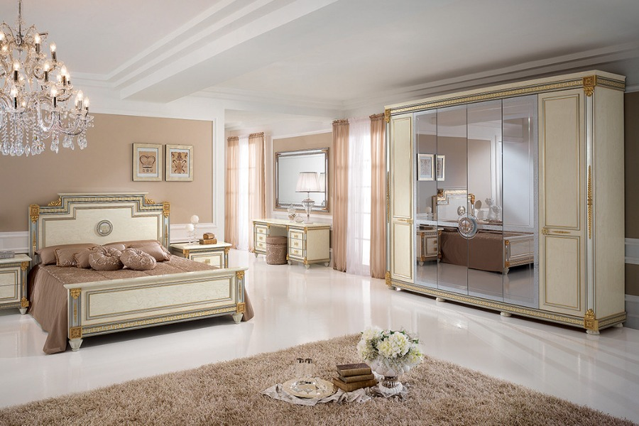 Italian classic furniture company liberty bedroom