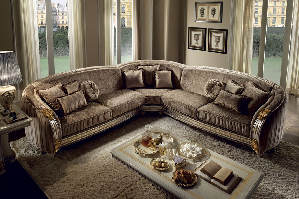 Italian classic furniture company-liberty living room