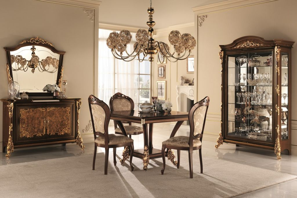 Italian classic furniture company-sinfonia dining room