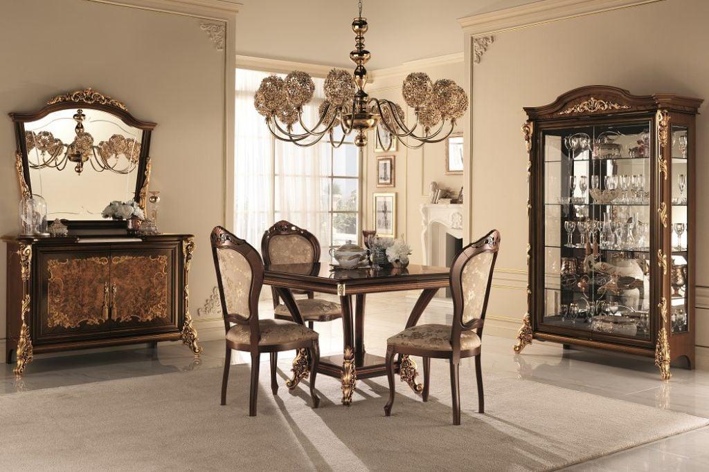 Italian classic furniture company-sinfonia dining room