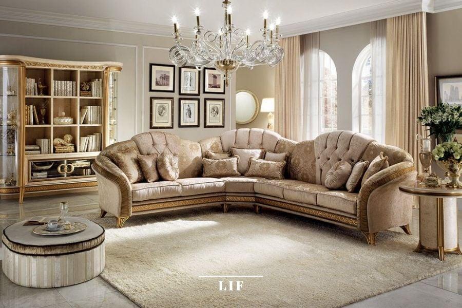 italian classic sofa set: Melodia