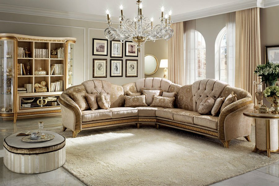 Classic Italian living room style: how to decorate a space elegantly 3