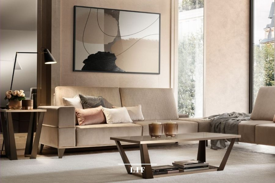 contemporary wall decoration for living room: accessories and home decor items
