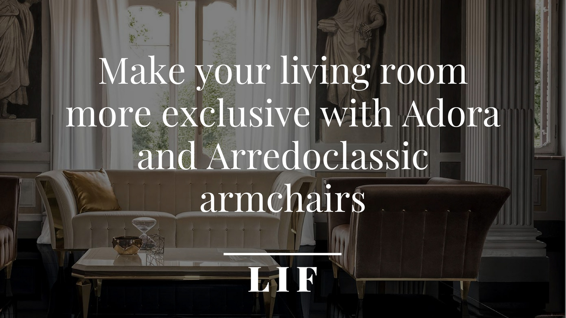 Make your living room more exclusive-Adora