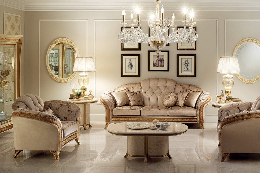 Renaissance furniture: useful tips when designing your living room 4