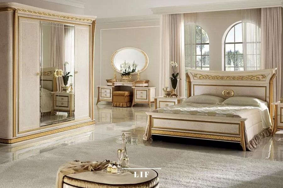 Neoclassical bedroom: Melodia