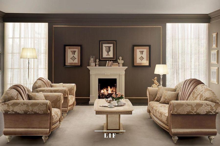 Neoclassical sofa: fantasia