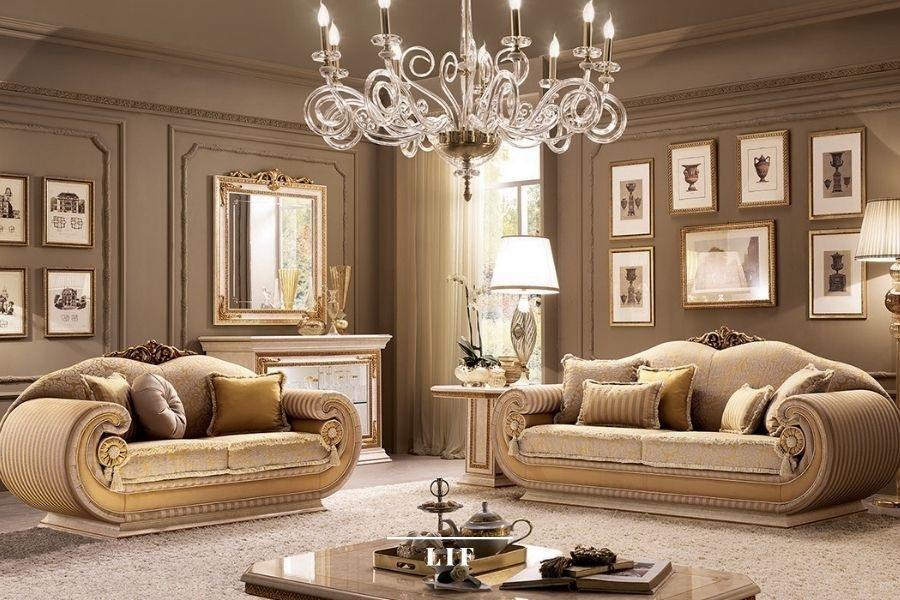 italian classic sofa set: Leonardo