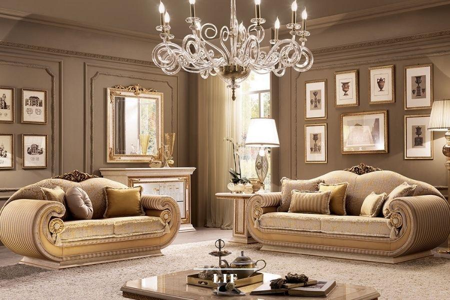 Neoclassical sofa: leonardo