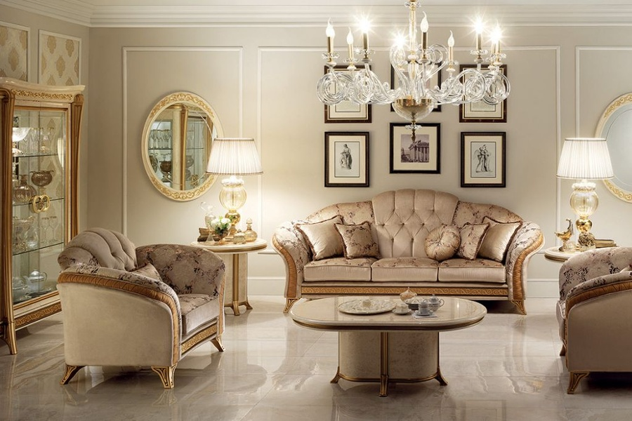 Classic Italian living room style: how to decorate a space elegantly 1