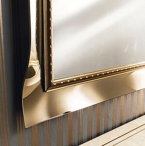 classic interior design style-mirror
