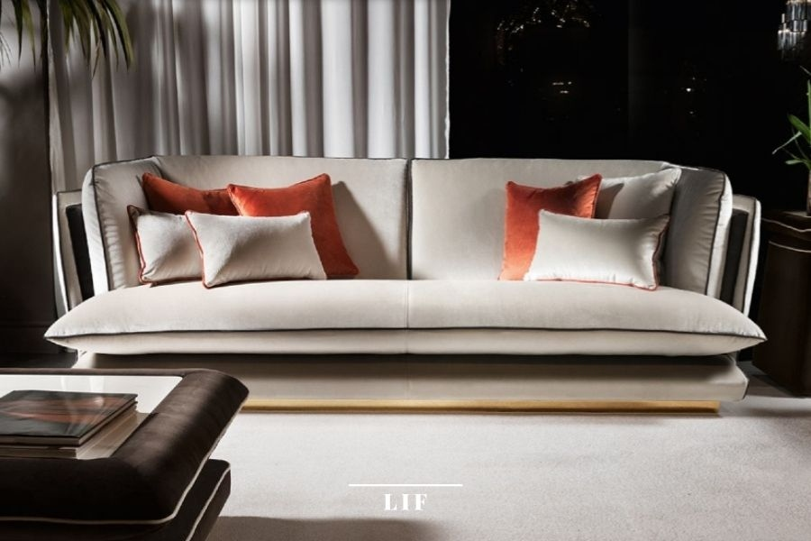 contemporary living room sets: allure collection