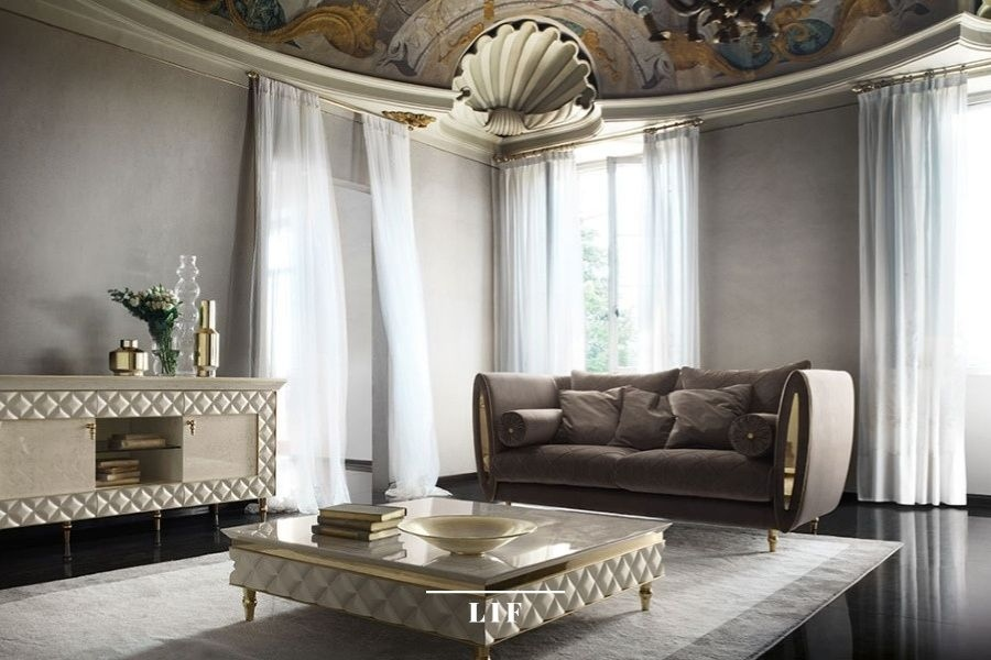 contemporary living room sets: sipario collection