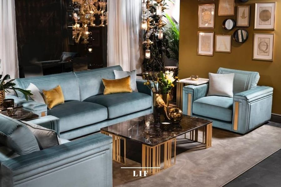contemporary living room sets: atmosfera collection