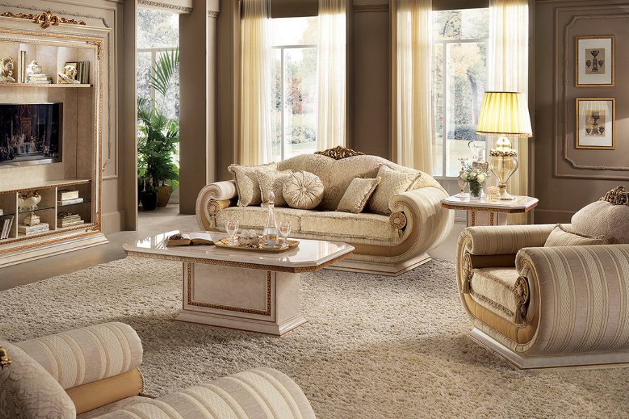 The elegance of a neoclassical style sofa: The Arredoclassic collections 4