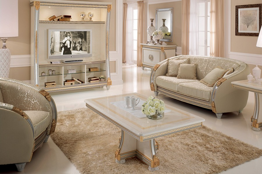 The elegance of a neoclassical style sofa: The Arredoclassic collections 5