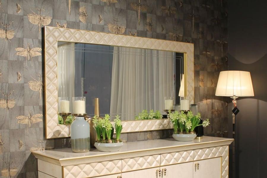 Living room interior design: Sipario mirror