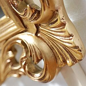 gold leaf furniture-detail