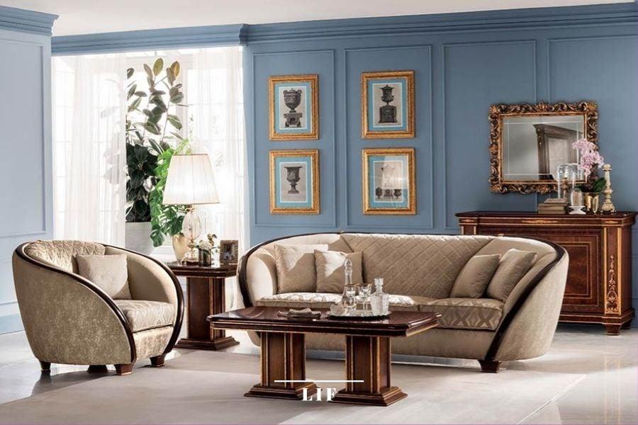 italian classic sofa set: Modigliani