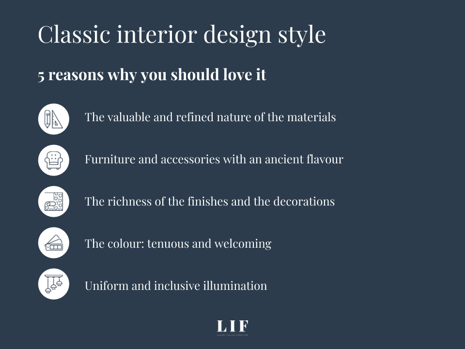 love classic interior design style