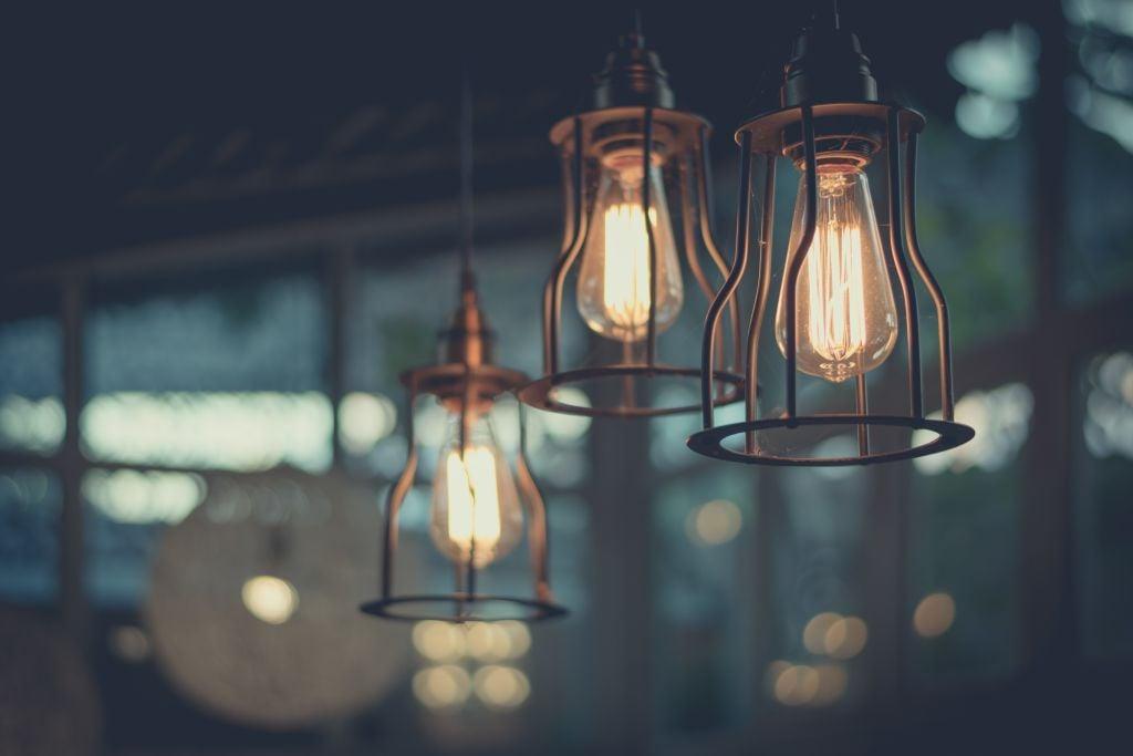 major interior lighting trends edison