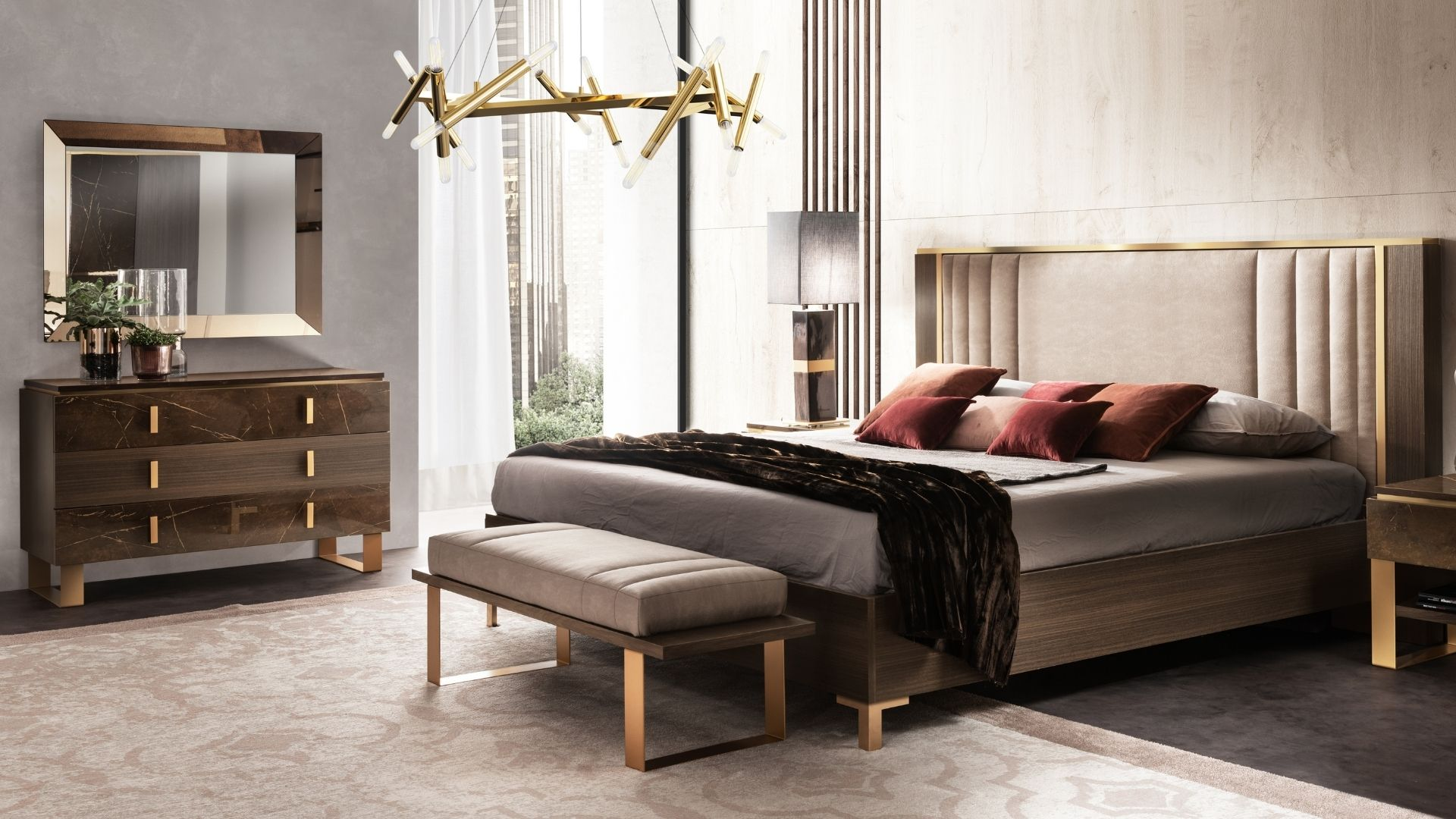 Bedroom with intimate and relaxing atmosphere