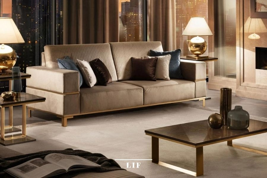 Spacious living rooms with comfortable seats