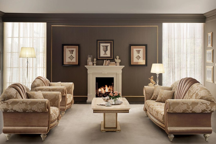 Neoclassic style living room: Create your living room with Arredoclassic Collections 1