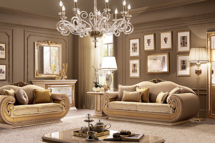 Neoclassic style living room: Create your living room with Arredoclassic Collections 2